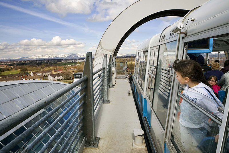 آسانسور دریایی اسکاتلند؛ آسانسوری میان دو کانال